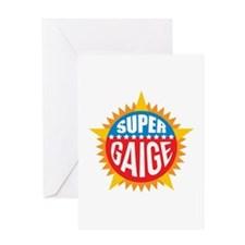 Super Gaige Greeting Card