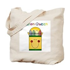 Crayon Queen Tote Bag