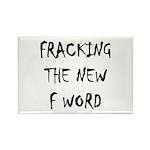 fracking 3 Rectangle Magnet (100 pack)