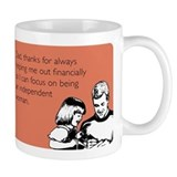 Independant Woman Small Mug