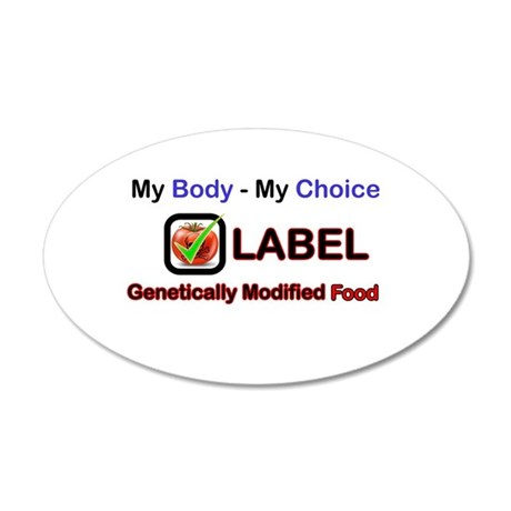 My Body My Choice Wall Decal