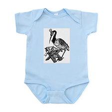 Reading Stork Infant Bodysuit
