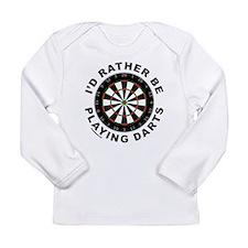 DARTBOARD/DARTS Long Sleeve T-Shirt
