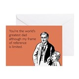 Greatest Dad Greeting Card