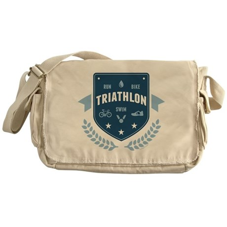 Triathlon Messenger Bag