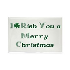 Irish Christmas Rectangle Magnet (100 pack)