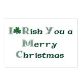 Irish Christmas Postcards (Package of 8)