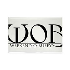 Weekend O' Buffy logo Rectangle Magnet