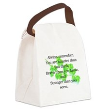 ALWAYS REMEMBER.. Canvas Lunch Bag