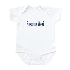 Rumsfeld Who? Onesie