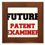 Future Patent Examiner Framed Tile