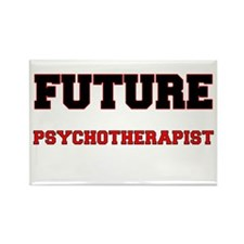 Future Psychotherapist Rectangle Magnet