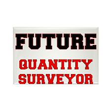 Future Quantity Surveyor Rectangle Magnet