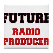 Future Radio Producer Tile Coaster