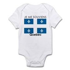 Je Me Souviens Quebec Infant Bodysuit