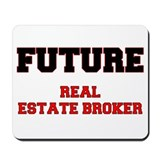 Future Real Estate Broker Mousepad