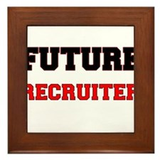 Future Recruiter Framed Tile