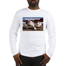 Just plane crazy: Stinson Aircraft Long Sleeve T-S