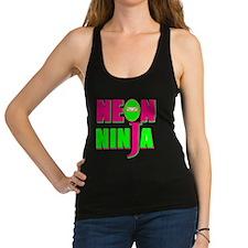 NEON NINJA GLOW PARTY Racerback Tank Top