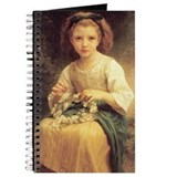 Child Braiding Flower Crown B Journal
