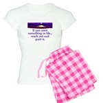 REACH OUT AND GRAB IT.. Women's Light Pajamas