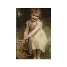 Cute Bouguereau Rectangle Magnet