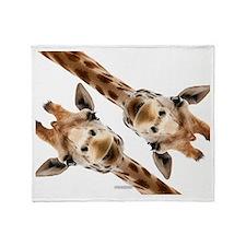 Giraffe Hangout Part 3 Throw Blanket