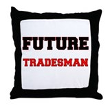 Future Tradesman Throw Pillow