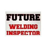 Future Welding Inspector Rectangle Magnet