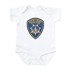 Oakland Police Infant Bodysuit