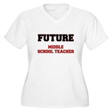 Future Middle School Teacher Plus Size T-Shirt