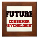 Future Consumer Psychologist Framed Tile