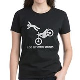 Motorcycle, Funny Motorcycle Stunts Tee