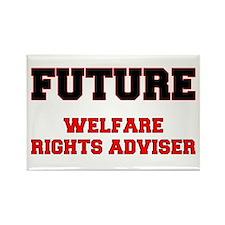 Future Welfare Rights Adviser Rectangle Magnet