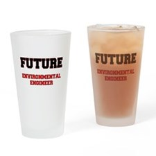 Future Environmental Engineer Drinking Glass