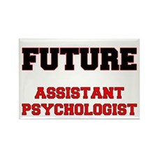 Future Assistant Psychologist Rectangle Magnet