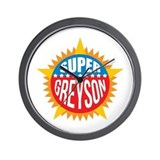 Super Greyson Wall Clock