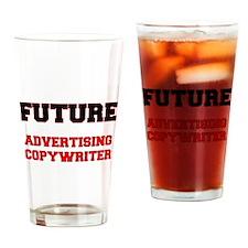 Future Advertising Copywriter Drinking Glass