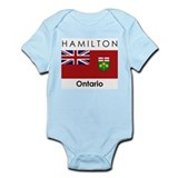 Hamilton Ontario Infant Bodysuit