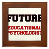 Future Educational Psychologist Framed Tile