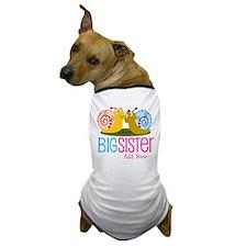Add Name Big Sister Dog T-Shirt