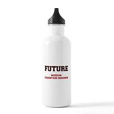 Future Museum Exhibition Designer Water Bottle