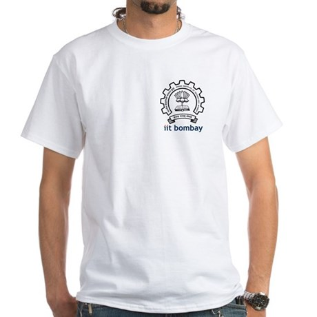 IIT Bombay White T-Shirt