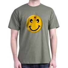 """Bust a cap in Smiley"" T-Shirt"