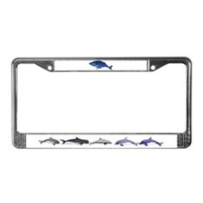Humpback Whale (solo) License Plate Frame