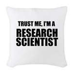 Trust Me, Im A Research Scientist Woven Throw Pill