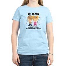 30th Anniversary Hes Greatest Catch T-Shirt