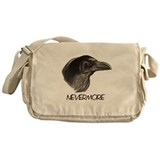 Raven Head Nevermore Messenger Bag