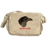 The Raven Nevermore Messenger Bag