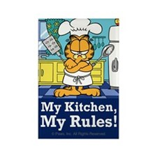 My Kitchen, My Rules! Rectangle Magnet (100 pack)